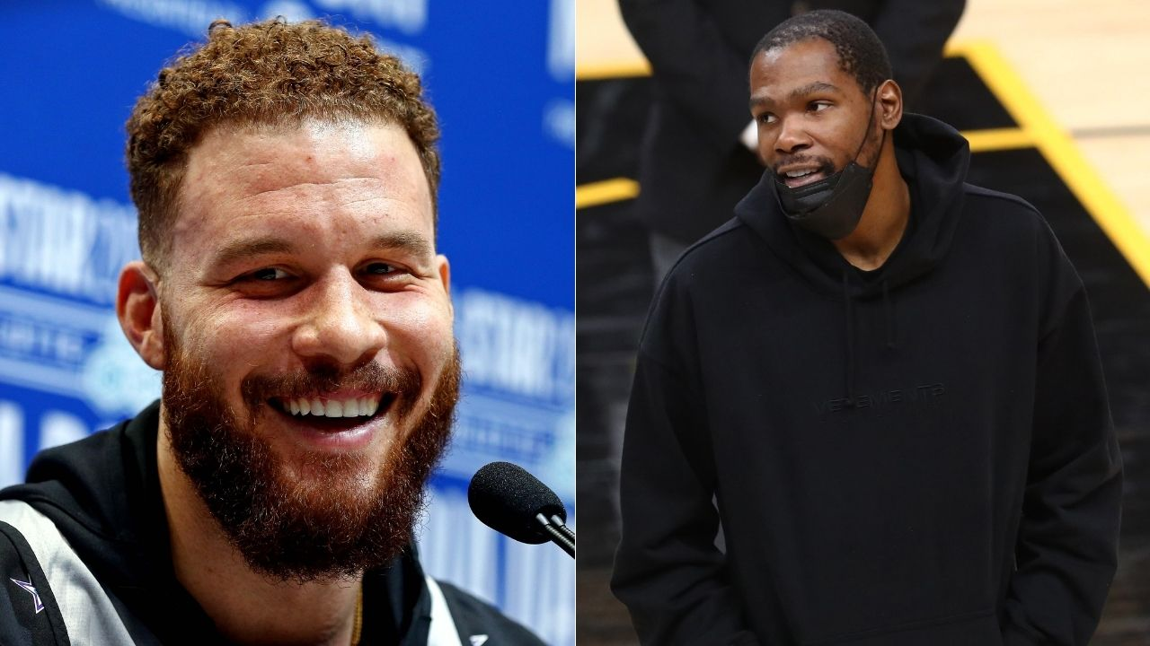 """""""Shannon Sharpe, whatever I did, I apologize"""": Kevin Durant mocks Undisputed co-host for his meltdown following Blake Griffin signing with the Nets"""