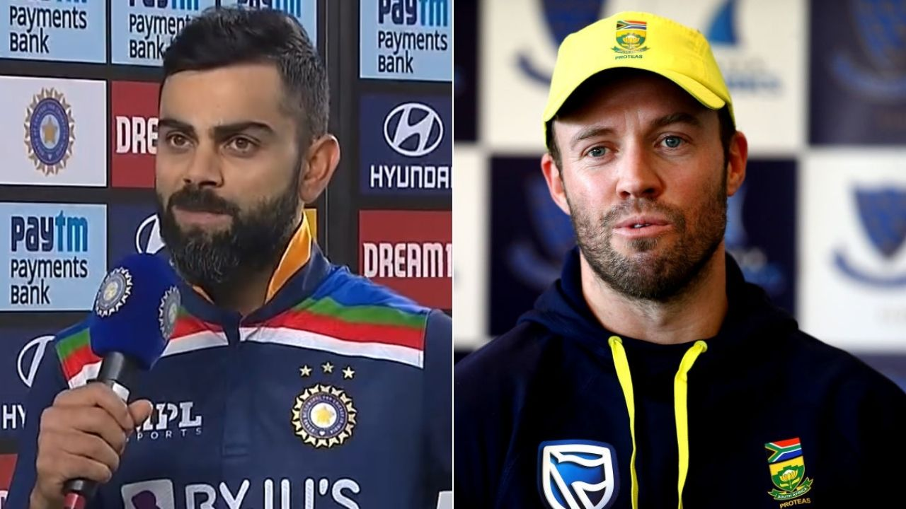"""""""Had a special chat with ABD"""": Virat Kohli reveals AB de Villiers' advice before scoring half-century in Ahmedabad T20I"""