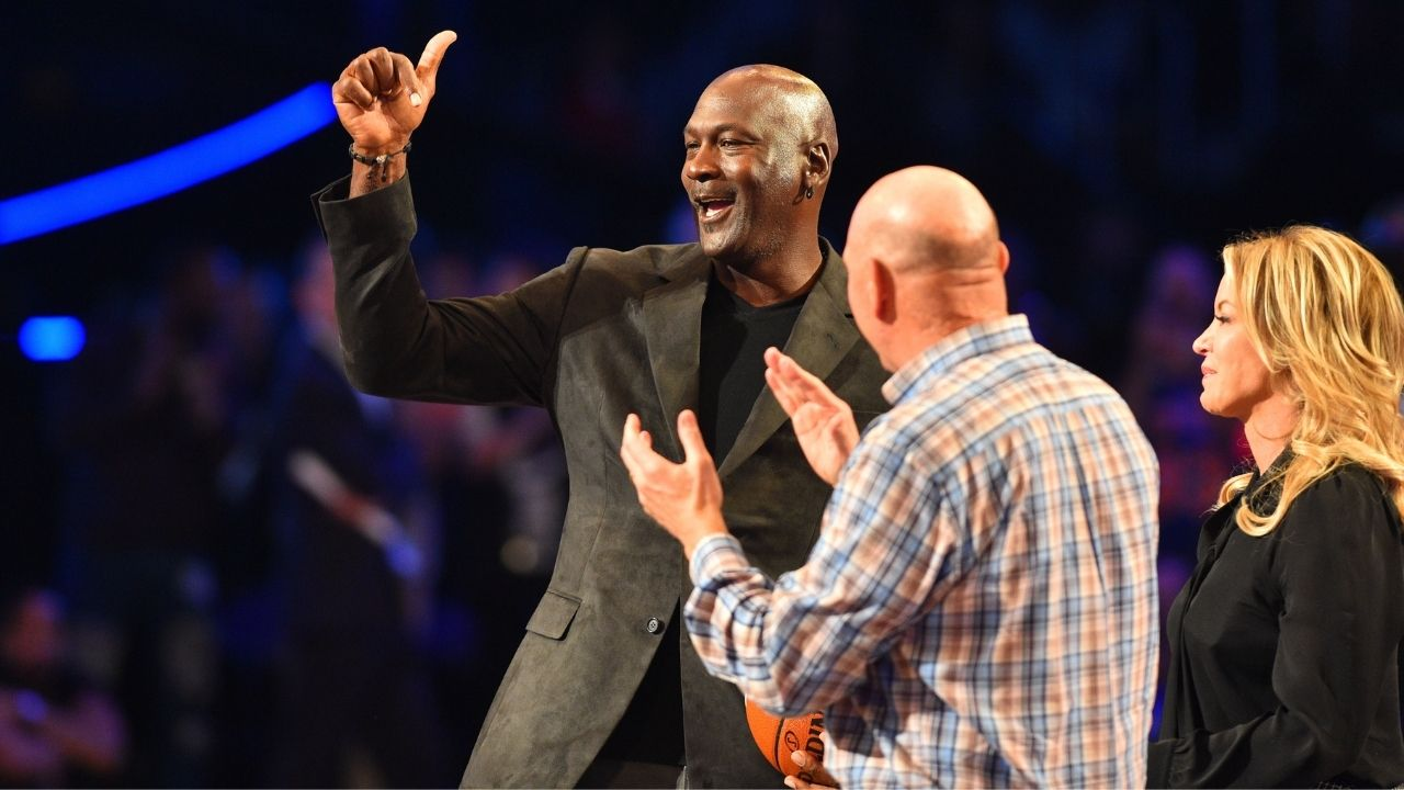 """""""Michael Jordan is down $500 million"""": A glance at the Bulls legend's Forbes profile shows a marked decrease in his 2019 net worth of $2.1 billion"""
