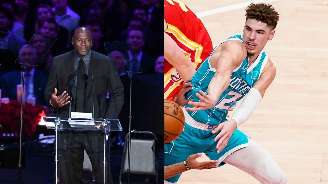 """""""LaMelo Ball is Michael Jordan's best draft pick"""": Shannon Sharpe and Skip Bayless congratulate the 'GOAT' on drafting Melo to the Charlotte Hornets"""
