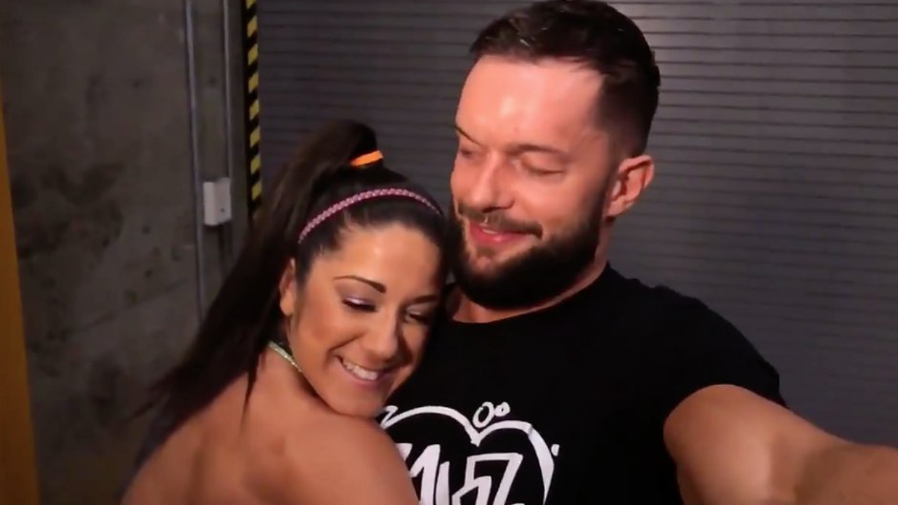 Bayley says her onscreen chemistry with Finn Balor got her into trouble in her past relationship
