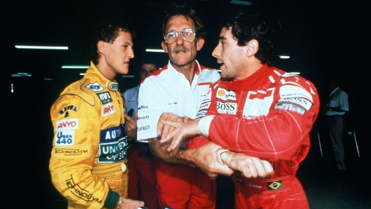 """""""It was not necessary behaviour for a three-time world champion""""- Michael Schumacher's alteration with Ayrton Senna"""