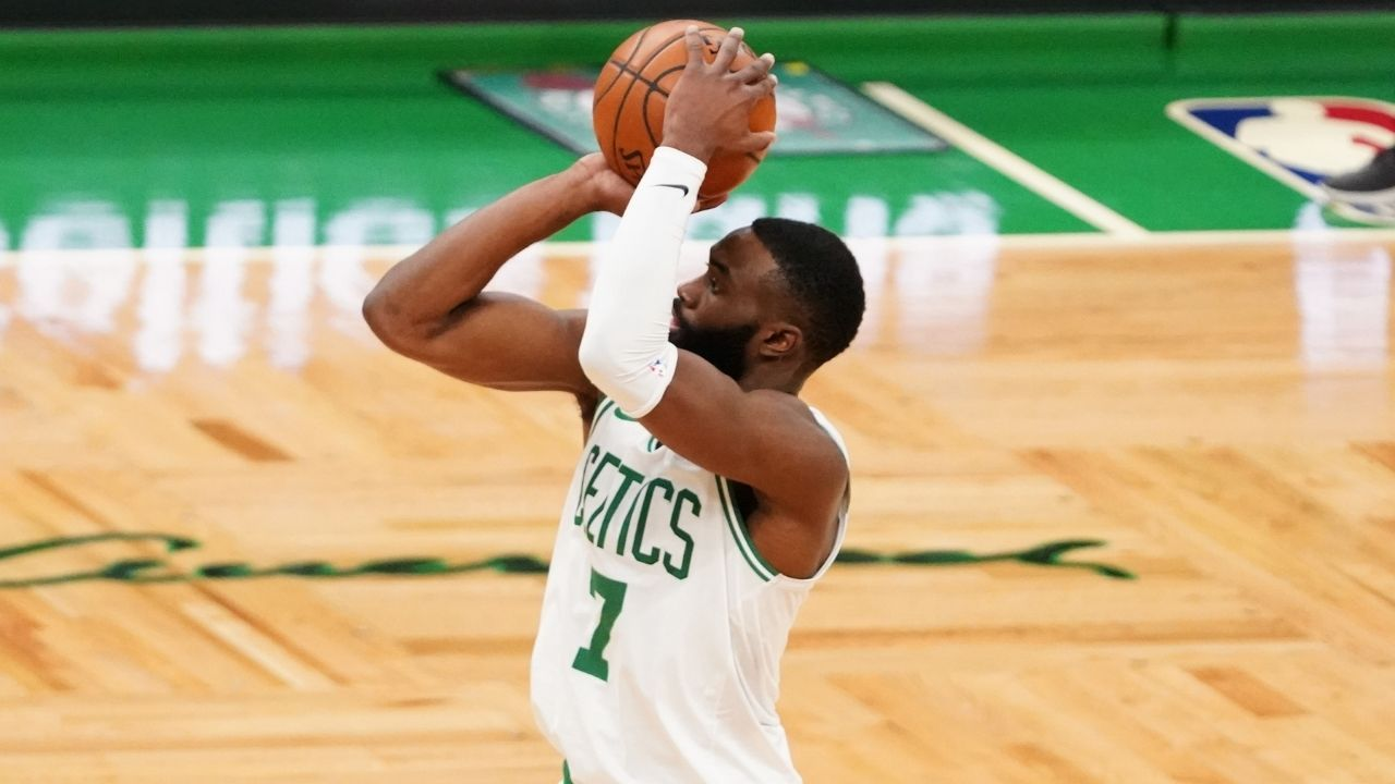 'Felt like Stephen Curry today': Jaylen Brown jokingly compared himself to the Warriors legend after having a great shooting game against Magic