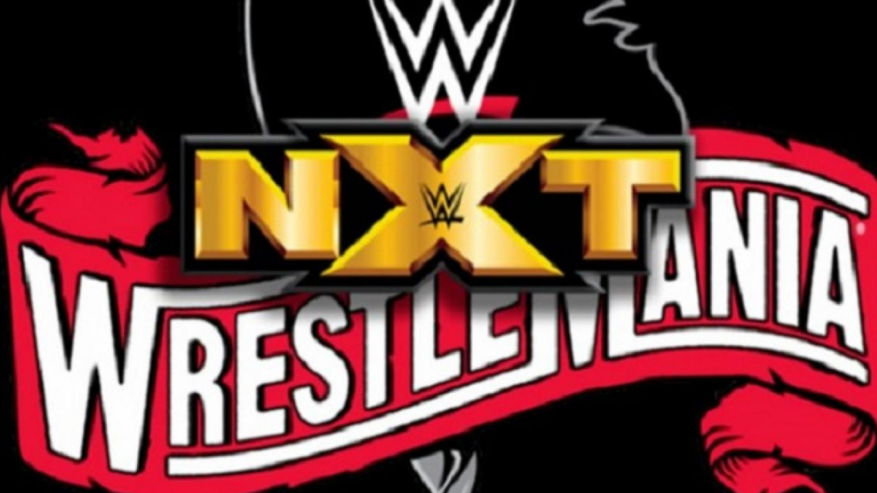 Will WWE feature NXT Title matches on Wrestlemania 37