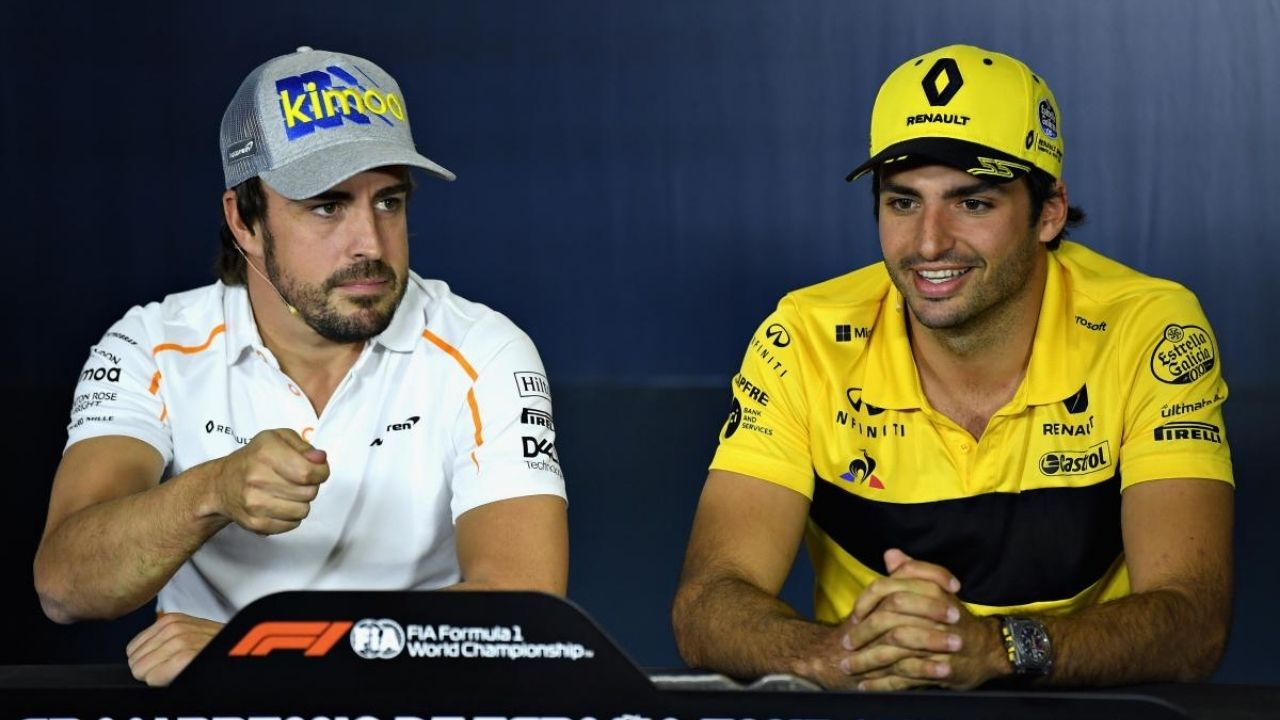 """""""Carlos is at the right time in the right team"""" - Former F1 driver on the Spanish battle between Sainz and Fernando Alonso"""