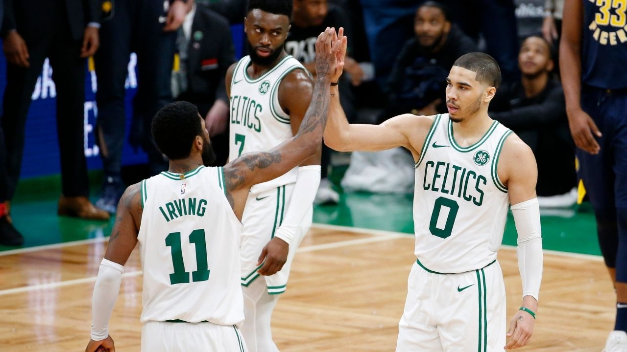 """""""Kyrie Irving and I had our ups and downs, but that is the case with any team"""": Jayson Tatum opens up about his relationship with the Nets star during his time with the Celtics"""