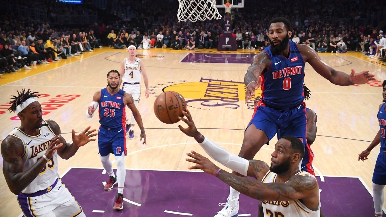 """My biggest goal in life is to play with LeBron James"": Andre Drummond outlined his desire to team up with Lakers MVP 10 years ago on Twitter"