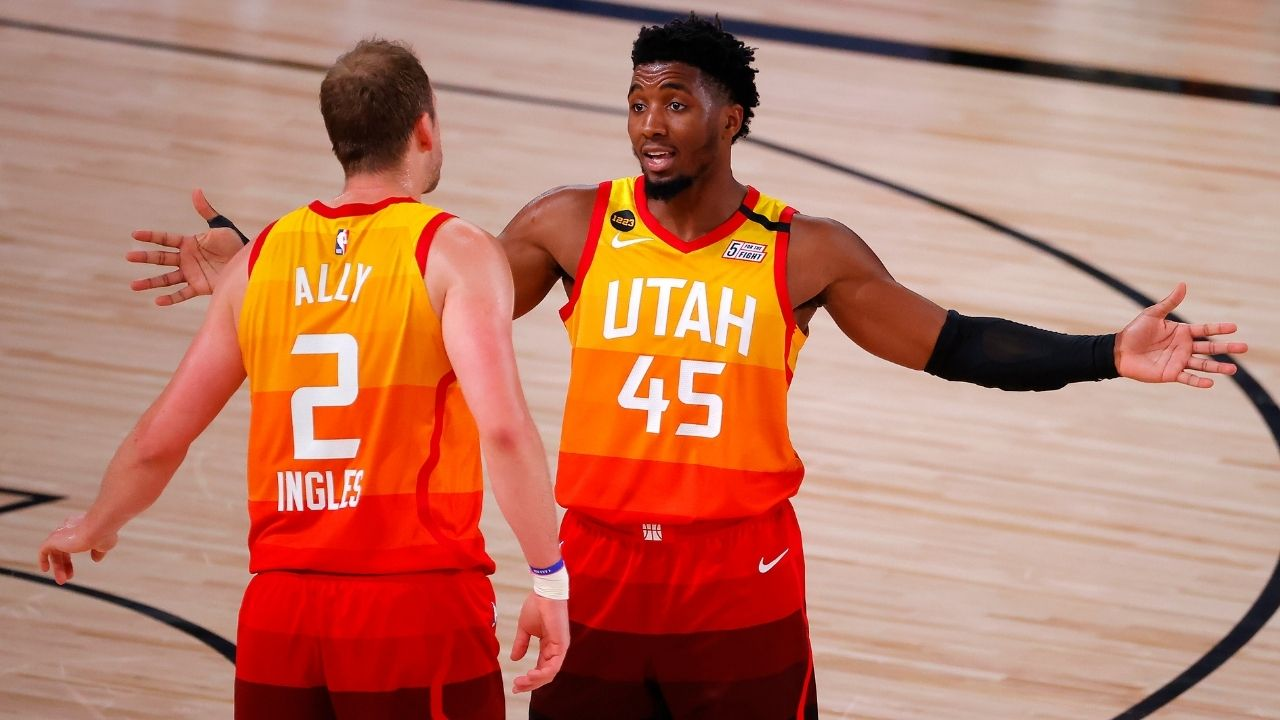 """Joe Ingles has been in the NBA for 30 years"": Donovan Mitchell hilariously roasts Utah Jazz teammate for 'being old'"
