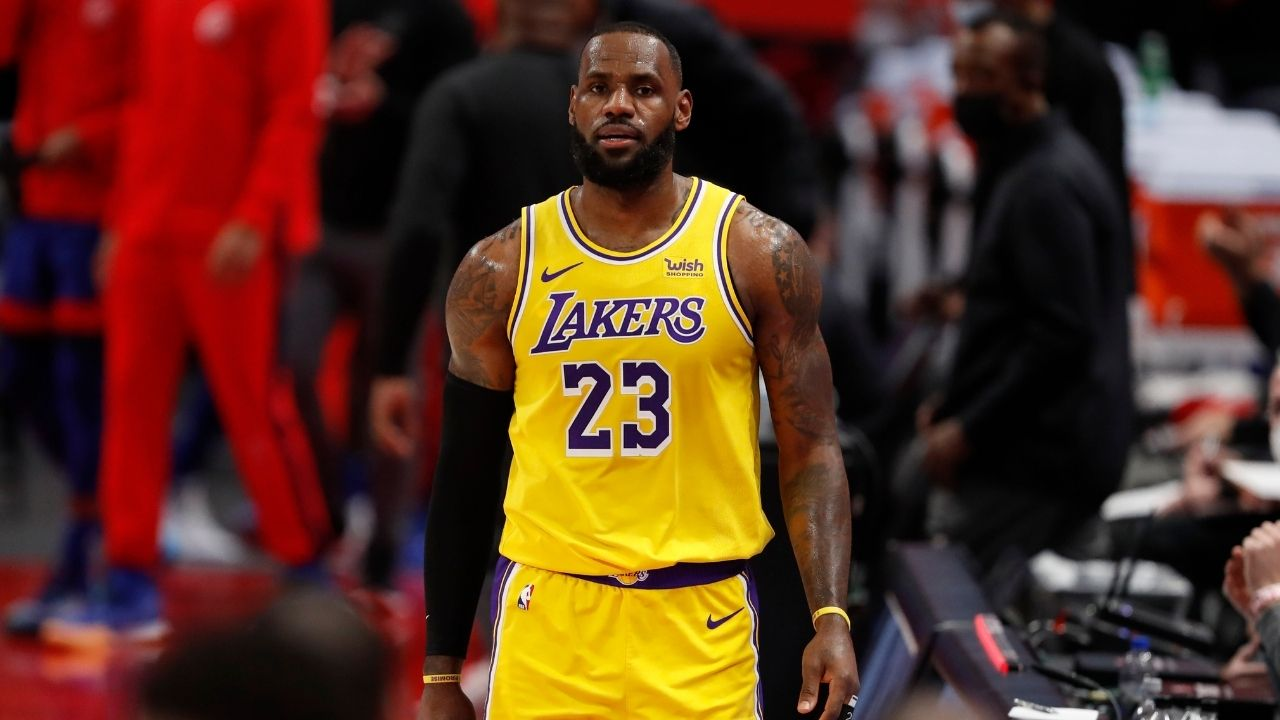 """""""I'm hurt inside and out right now"""": LeBron James expresses his pain after injuring his ankle in the Lakers' loss to Atlanta last night"""