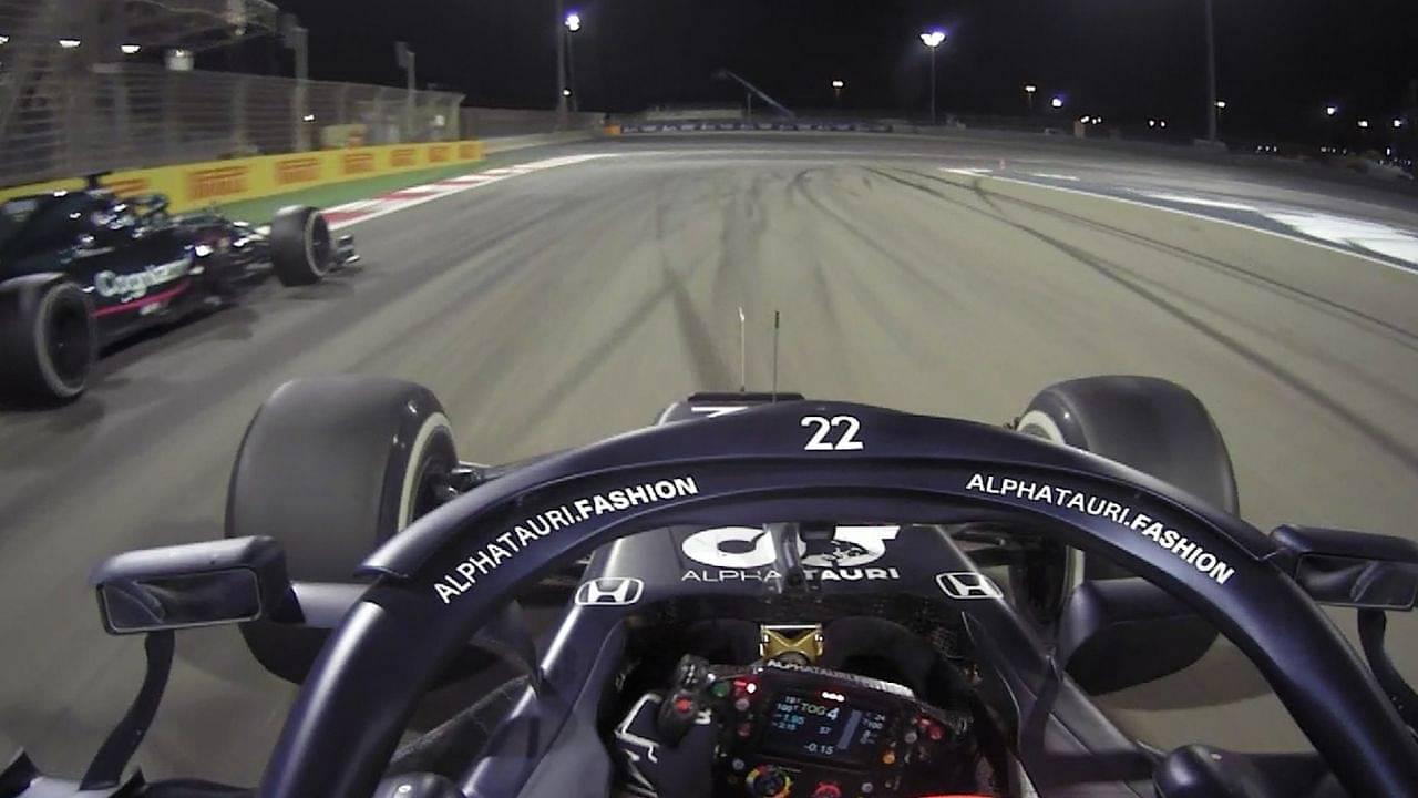 """If I couldn't overtake him, I can't sleep all night""- Yuki Tsunoda on last lap battle in Bahrain"