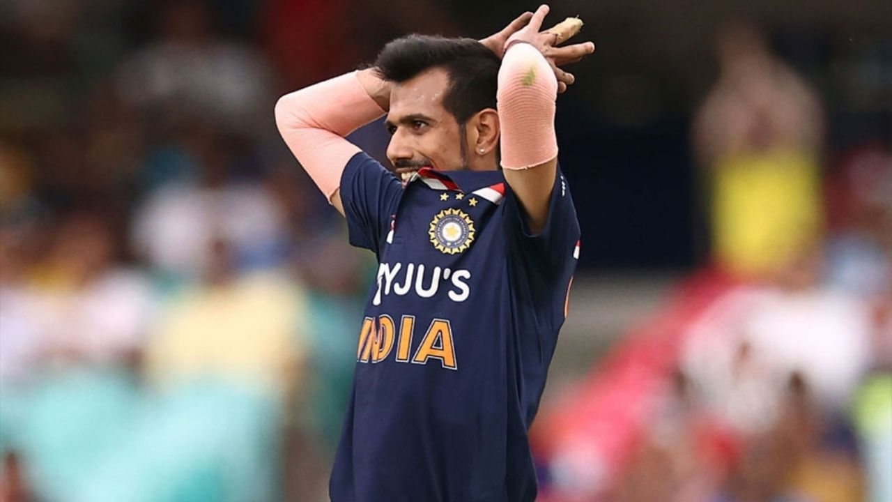Why is Yuzvendra Chahal not playing today's 4th T20I between India and England in Ahmedabad?