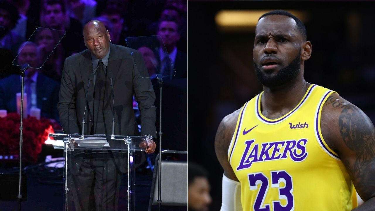 """Michael Jordan will always be my GOAT"": Dwyane Wade explains the criteria for LeBron James to have a real shout as the greatest of all time"