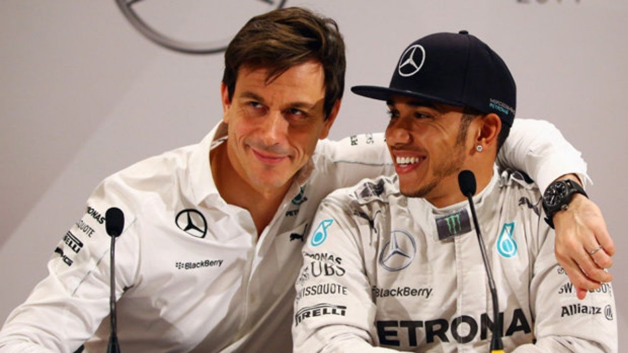 """""""If Lewis stays in Formula 1, we want to do that together""""- Toto Wolff"""