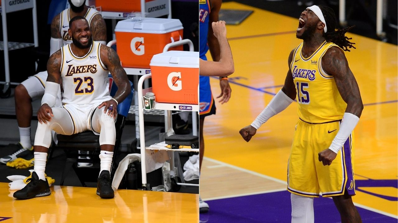 """""""Montrezl Harrell is getting better every game"""": LeBron James has high hopes for the Lakers' Sixth Man of the Year candidate"""