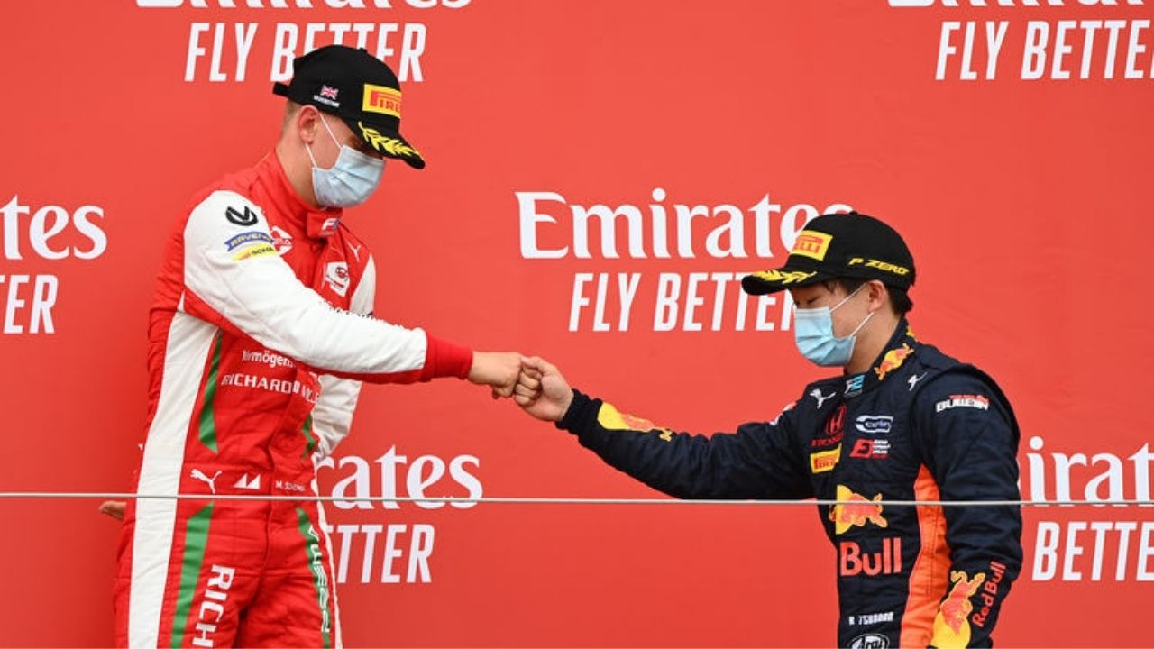 """""""Of course I try to be the best rookie driver in Formula One""""- Yuki Tsunoda on competing Mick Schumacher"""
