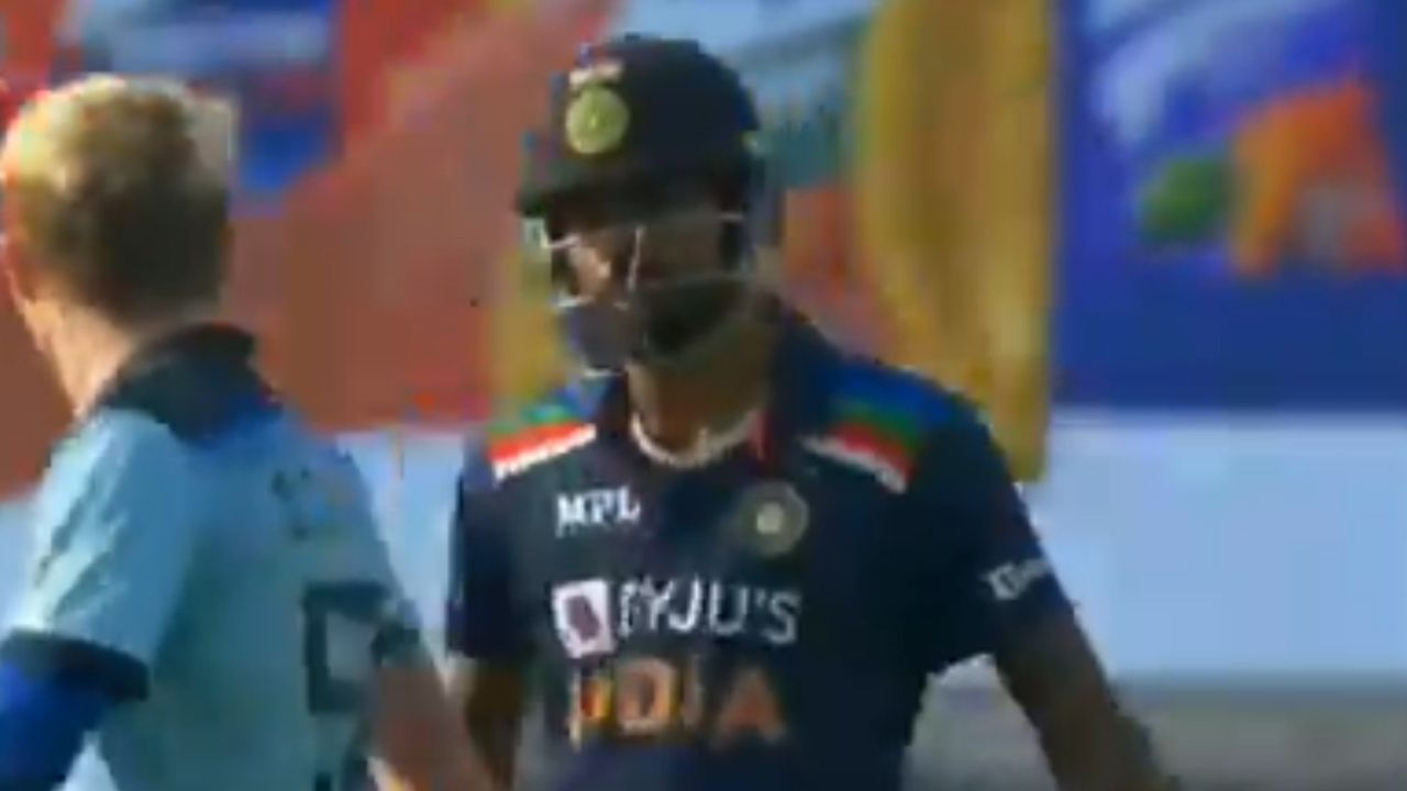 Hardik Pandya and Sam Curran fight: H Pandya and S Curran involved in heated exchange in Pune ODI