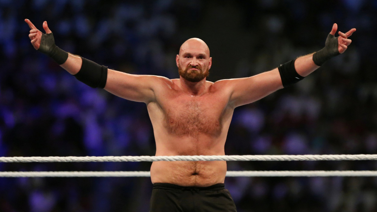Tyson Fury discusses cancelled WWE Plans
