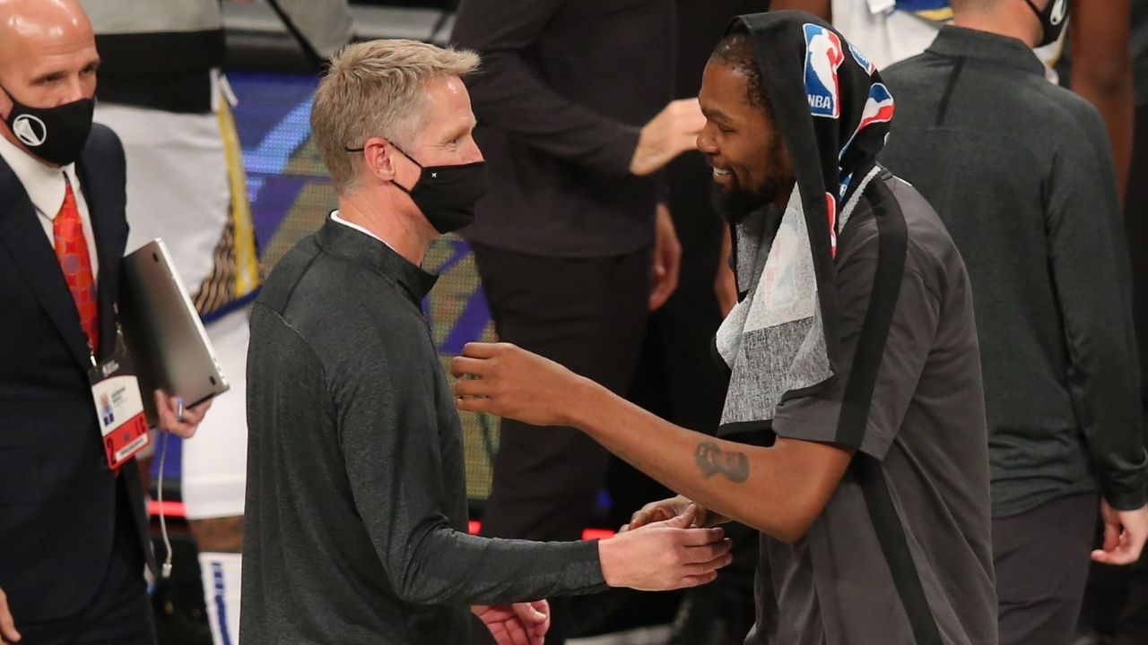 """""""If Steve Kerr cared about Kevin Durant's feelings, he wouldn't have said that"""": Skip Bayless makes insightful observation on row over Warriors reporter misquoting Kerr"""