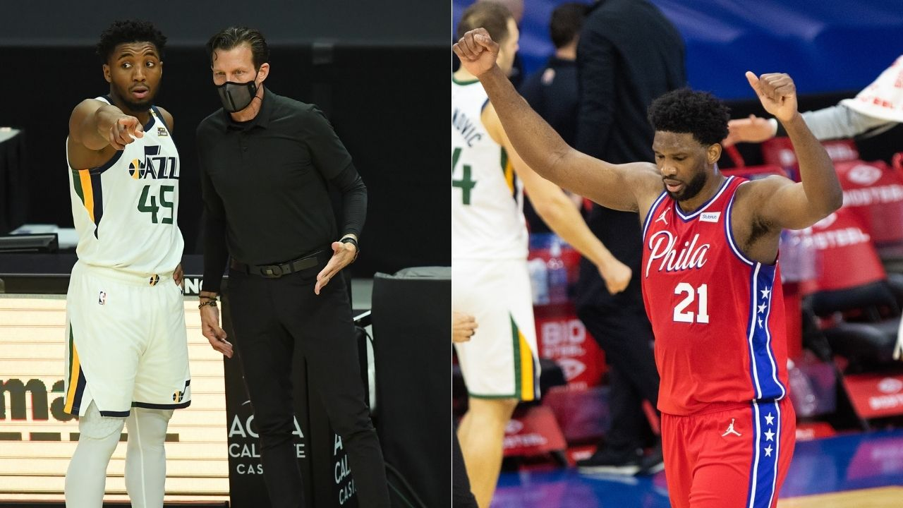 """Donovan Mitchell reacts to his ejection against 76ers: """"Never wanted to blame referees, but this is getting out of hand"""""""