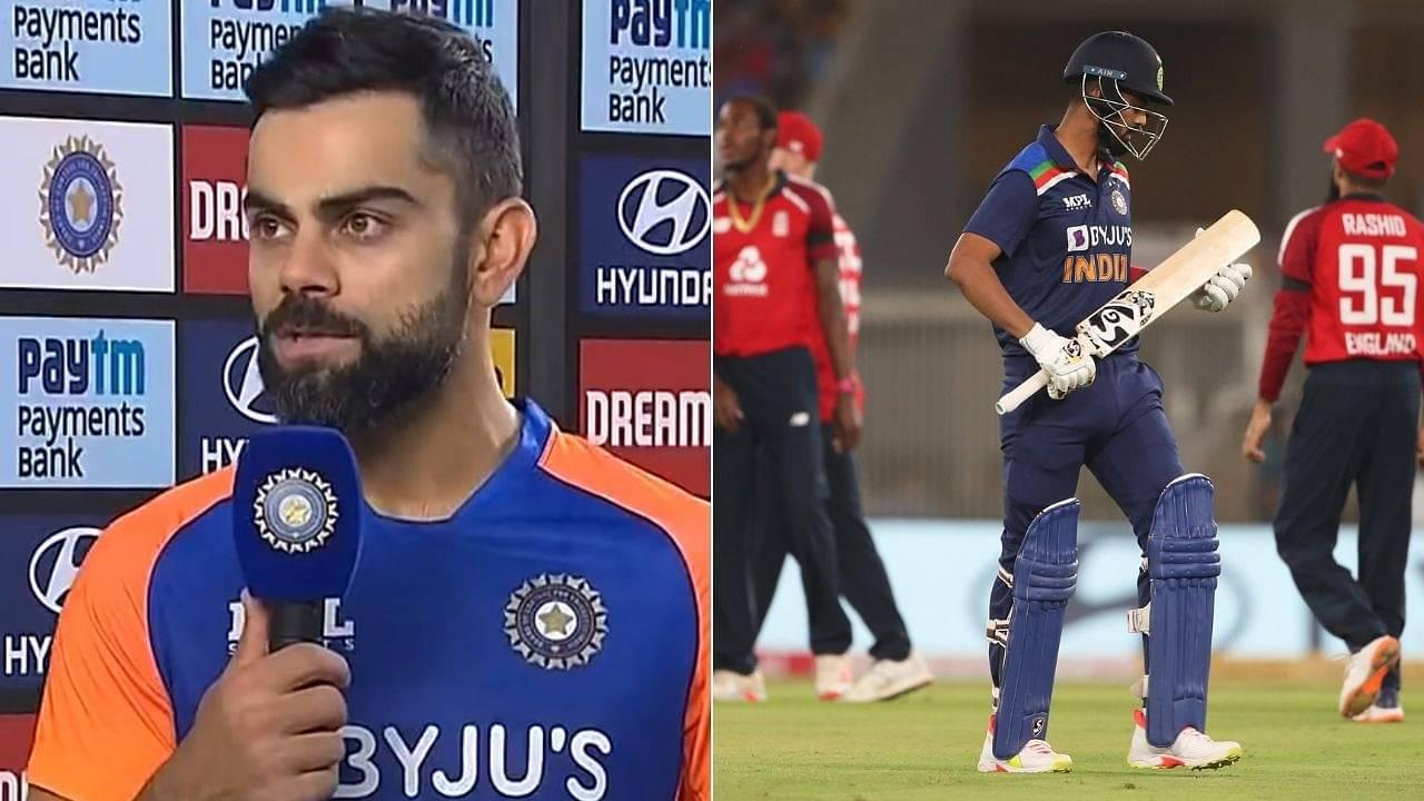 """He's a champions player"": Virat Kohli backs KL Rahul despite him scoring a run in three T20Is vs England"