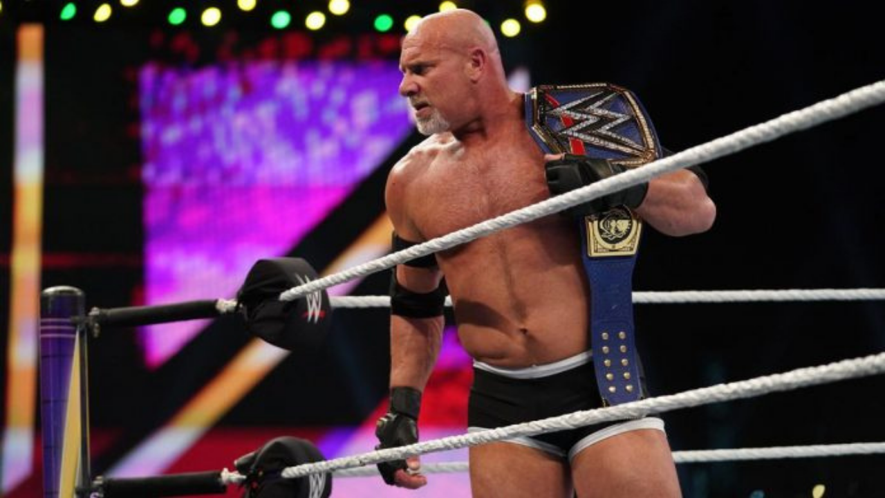 Goldberg says WWE star reminds him of his younger self