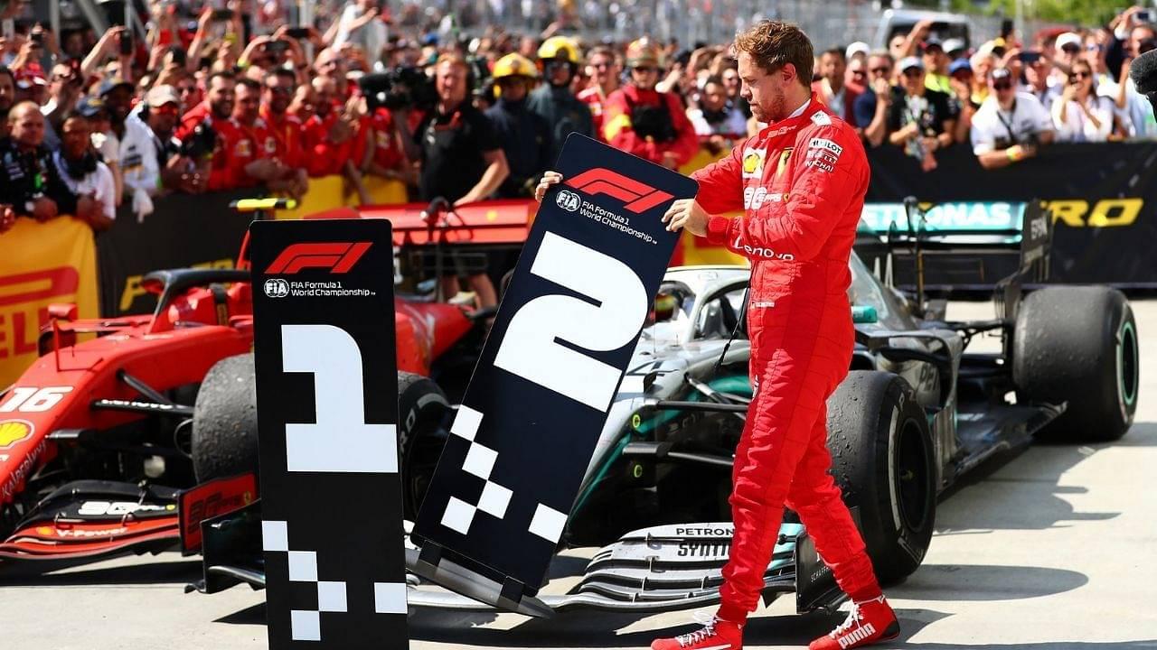 Ferrari still thinks Sebastian Vettel drives for them? No, it was fake news