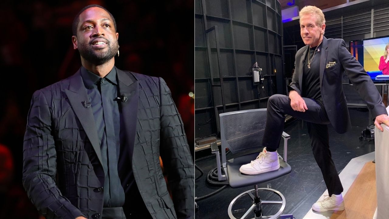 """Why does Dwyane Wade sell out LeBron James for his GOAT case?"": Heat legend fires back at banter from Skip Bayless regarding Michael Jordan as his personal GOAT"