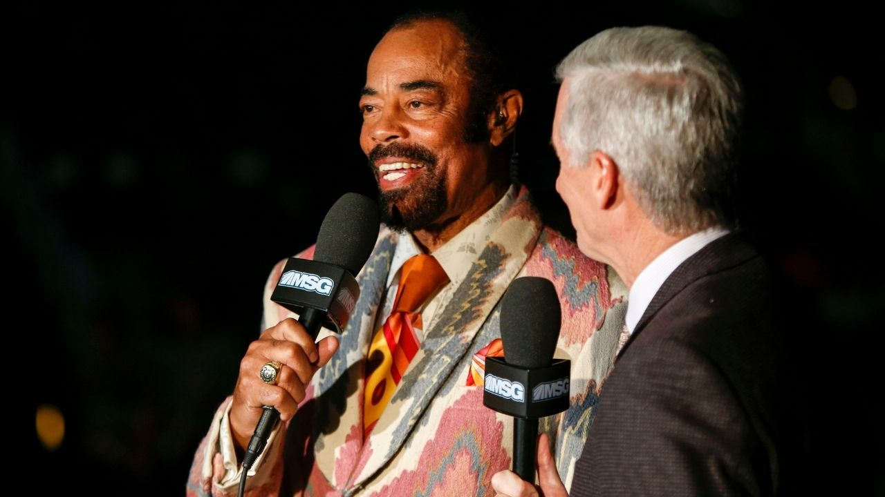 """""""Al Horford married Miss Universe, that's what I admire most"""": Knicks legend Clyde 'Walt' Frazier jokes about OKC big man with Mike Breen alongside him"""