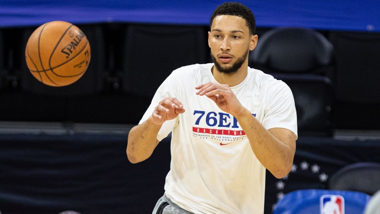 """""""Ben Simmons is nowhere close to being the second coming of LeBron James"""": NBA fans absolutely torch the Sixers star's abysmal play in their Game 5 loss to Trae Young and the Hawks"""