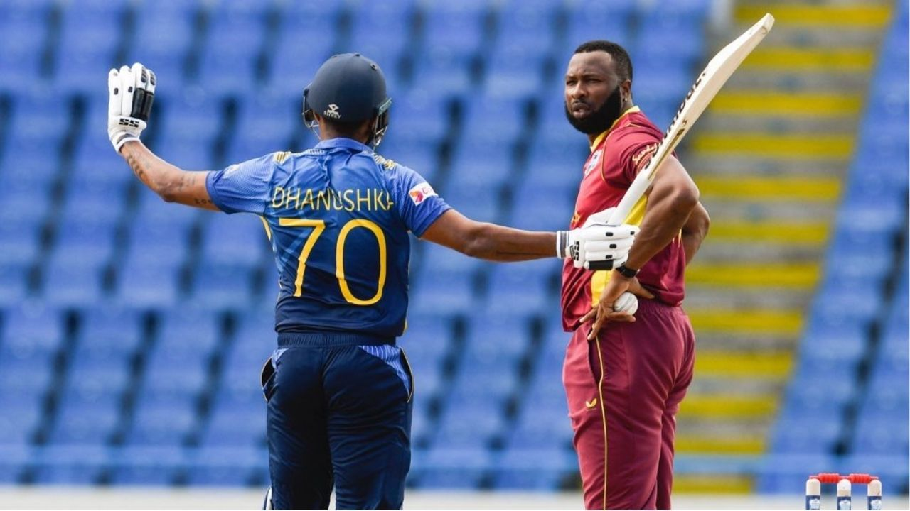 Was Danushka Gunathilaka out: Sri Lankan opener's obstructing the field dismissal vs West Indies sparks controversy