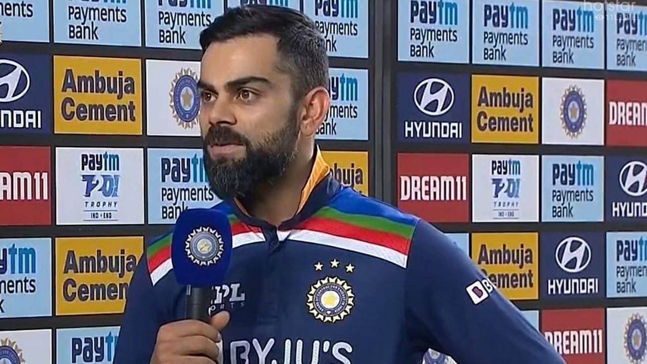 Is Virat Kohli injured: Kohli reveals why he went off the ground in India vs England Ahmedabad T20I