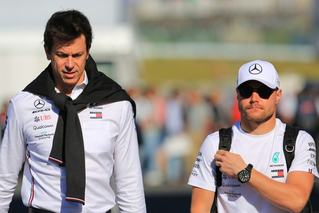 """He's the cool Finn"" - Mercedes boss Toto Wolff lavishes praise on Valtteri Bottas and Lewis Hamilton"