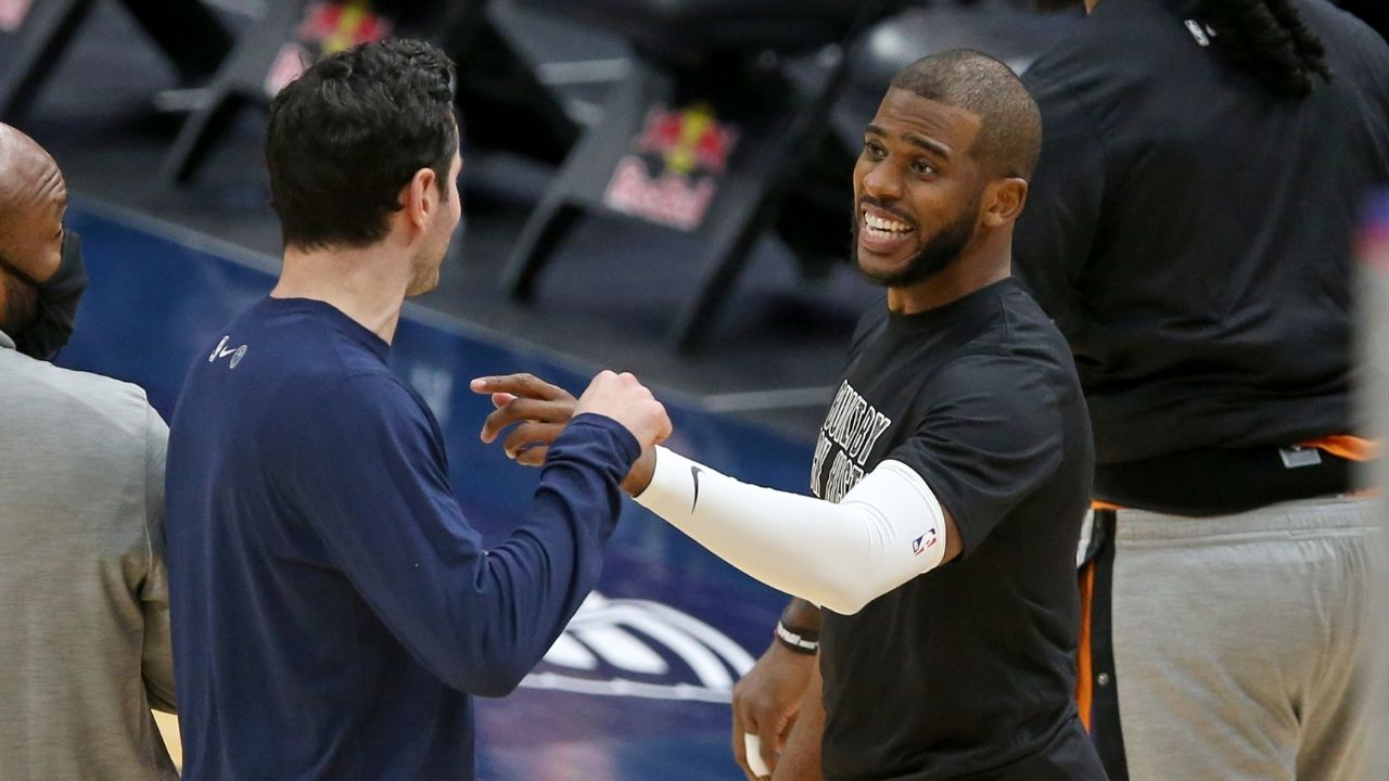 """""""Chris Paul should be in the MVP conversation"""": Charles Barkley and Shaquille O'Neal hotly debate Suns star's MVP credentials this year"""