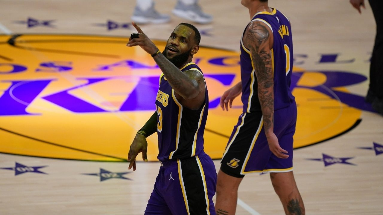 """""""LeBron James is a selective activist"""": Lakers star gets flamed for not openly advocating for the Covid-19 vaccine ahead of the 2021 NBA All-Star Game"""