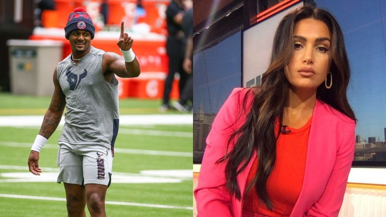 """""""Deshaun Watson needs to lay low, and NFL need to deal with this"""" First Take host Molly Qerim asks for the NFL to put Deshaun Watson on the Exempt list."""