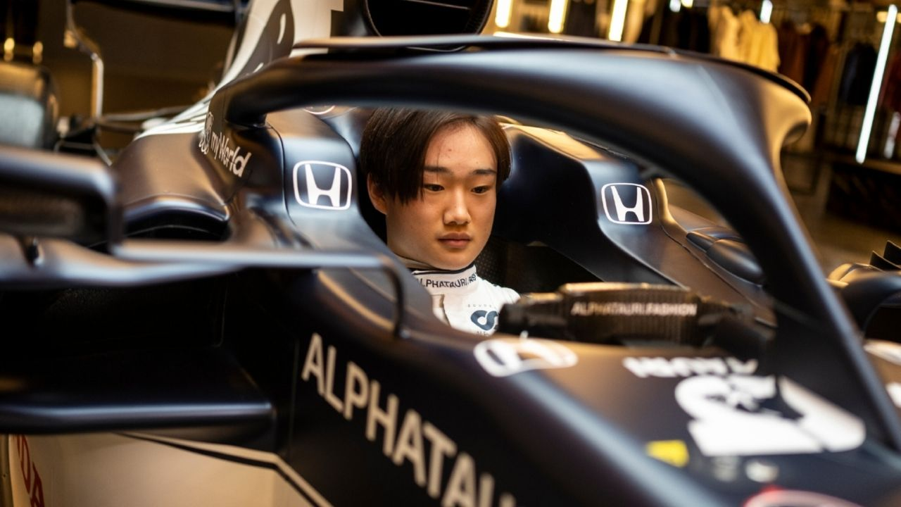 """I'm having a really special pedal kit""- Alpha Tauri doing best to make Yuki Tsunoda comfortable"