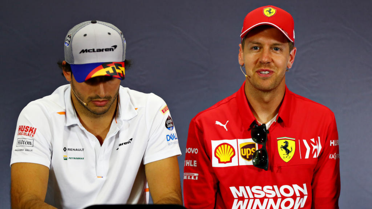 """""""He dedicated a letter to me""""- Carlos Sainz reveals thankyou note penned by Sebastian Vettel"""
