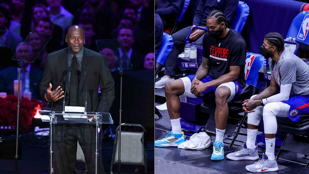 """""""Kawhi Leonard and Michael Jordan won NBA championships on Father's Day"""": How the Clippers star has a similar experience with gun violence as the Bulls legend"""