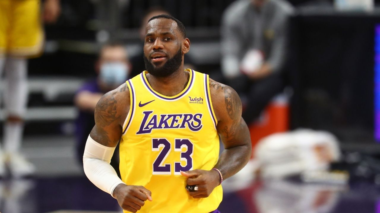 """""""We're just so damn good defensively"""": LeBron James opens up about what has 'saved' the Lakers' season this year"""