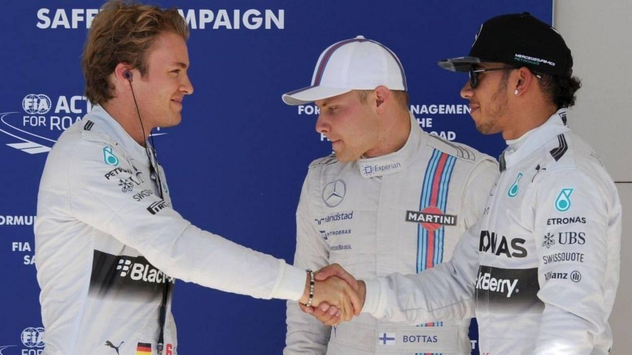 """But then Hamilton comes back""- Nico Rosberg claims Valtteri Bottas can't beat Lewis Hamilton"