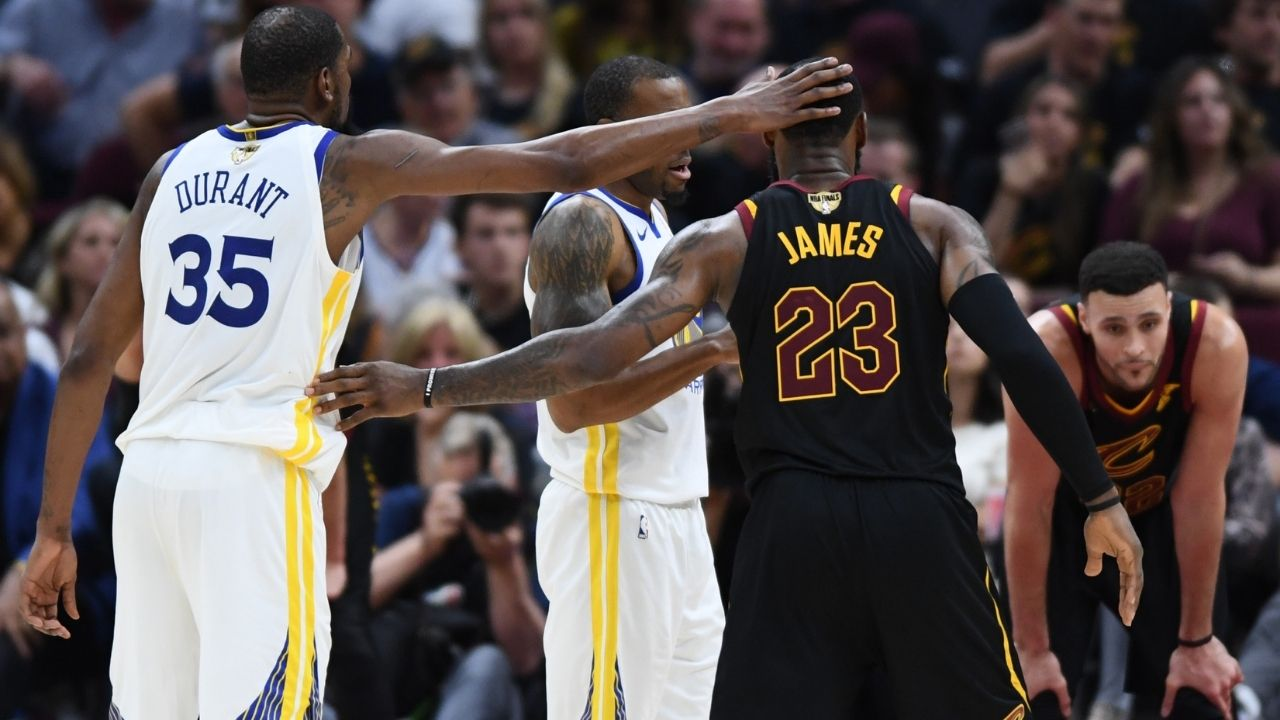 """""""The Brooklyn Nets should sign Michael Jordan"""": Kevin Durant posts savage response to rapper claiming the 'GOAT' should team up with James Harden and co."""