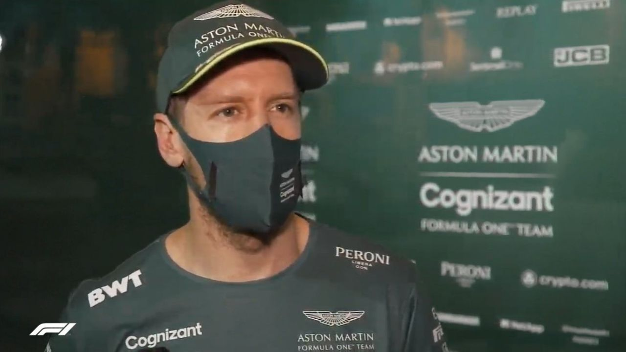 """""""10 years ago I would finally panic now""""- Sebastian Vettel on experience keeping calm amidst Aston Martin situation"""