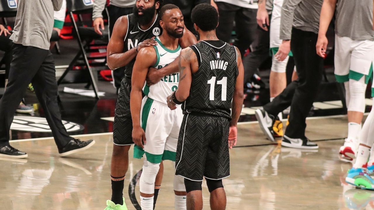 """""""All that s**t talking about me and my former teammates"""": Nets star Kyrie Irving blasts NBA media for their negative portrayal of his relationship with the Celtics"""