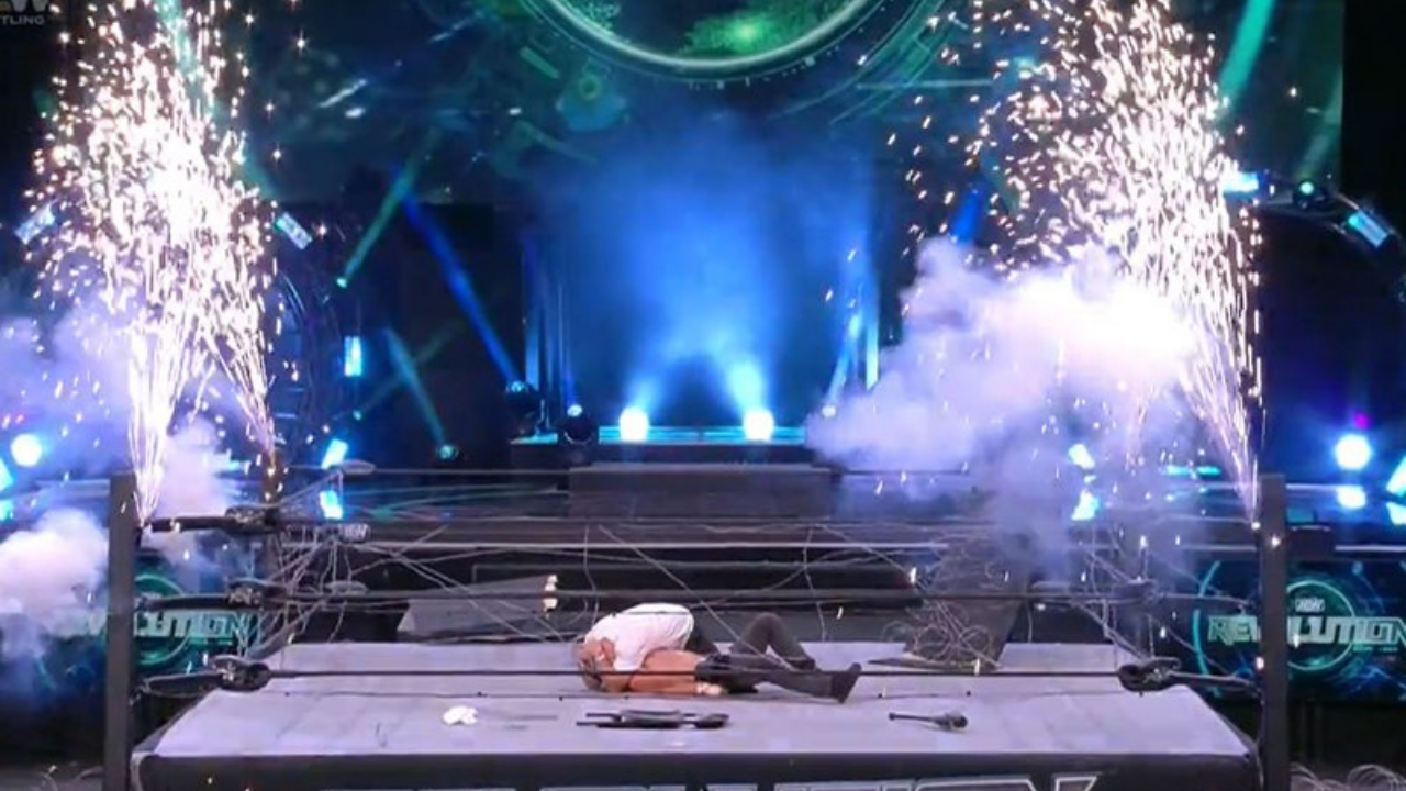 Fan footage shows crowd booed and reacted angrily to anticlimactic ending to AEW Revolution 2021