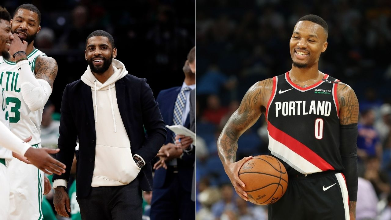 """""""Kyrie Irving has the most beautiful game in history"""": Damian Lillard loves watching the Nets star and his skill-based game"""