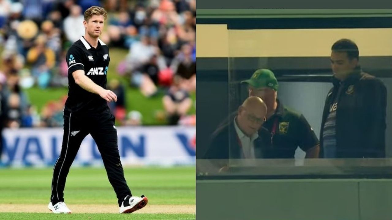"""""""Crazy stuff"""": Jimmy Neesham reacts to DLS chaos in Napier T20I as Bangladesh resume chase without knowing target"""