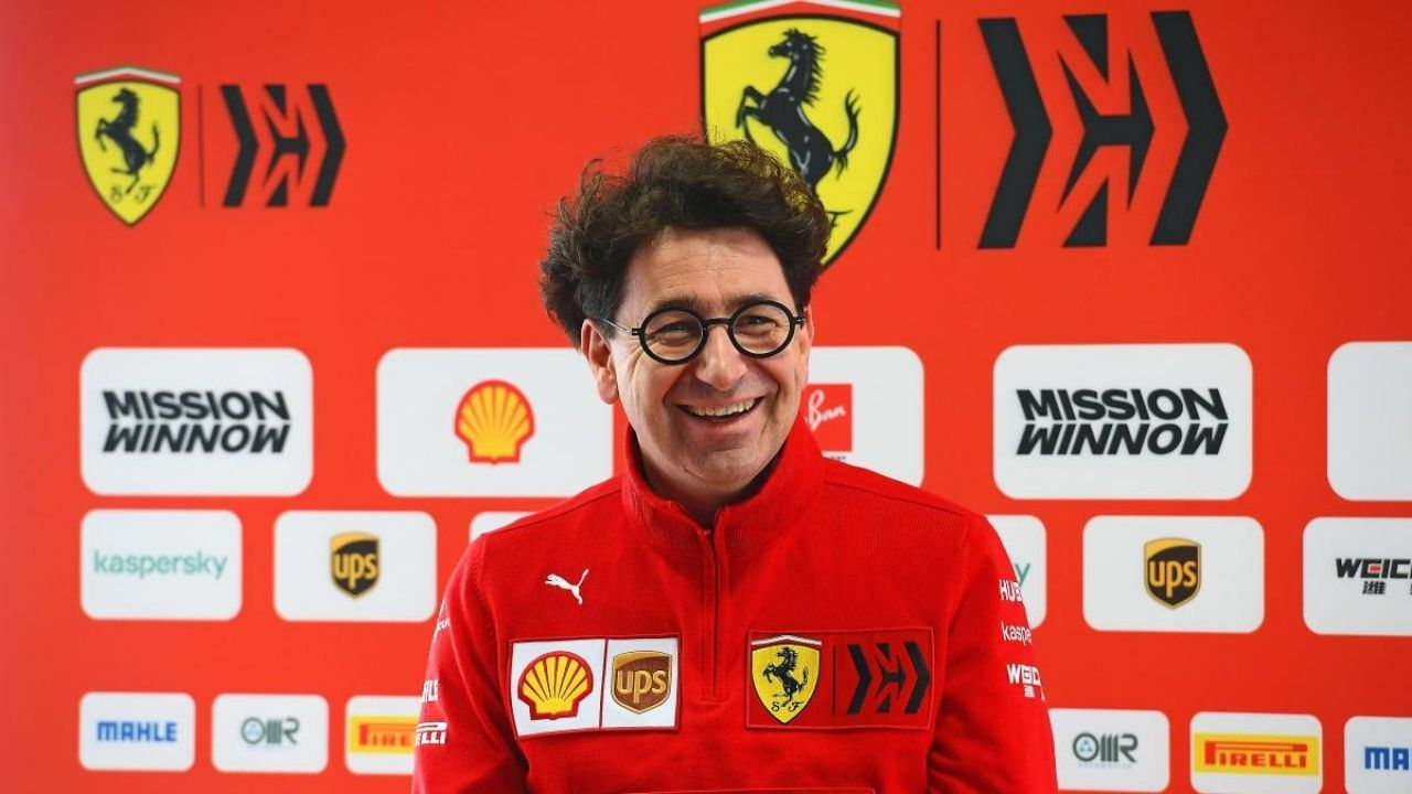 """Many congratulated me on the choice I made""- Mattia Binotto on choosing Carlos Sainz"
