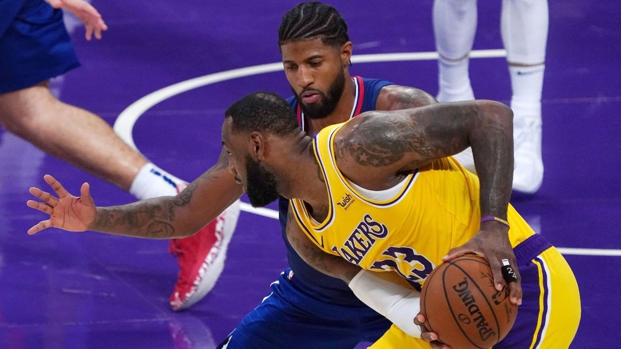 """""""I want to have the longevity LeBron James has had"""": Paul George sets his aims on emulating the Lakers superstar's insane durability"""