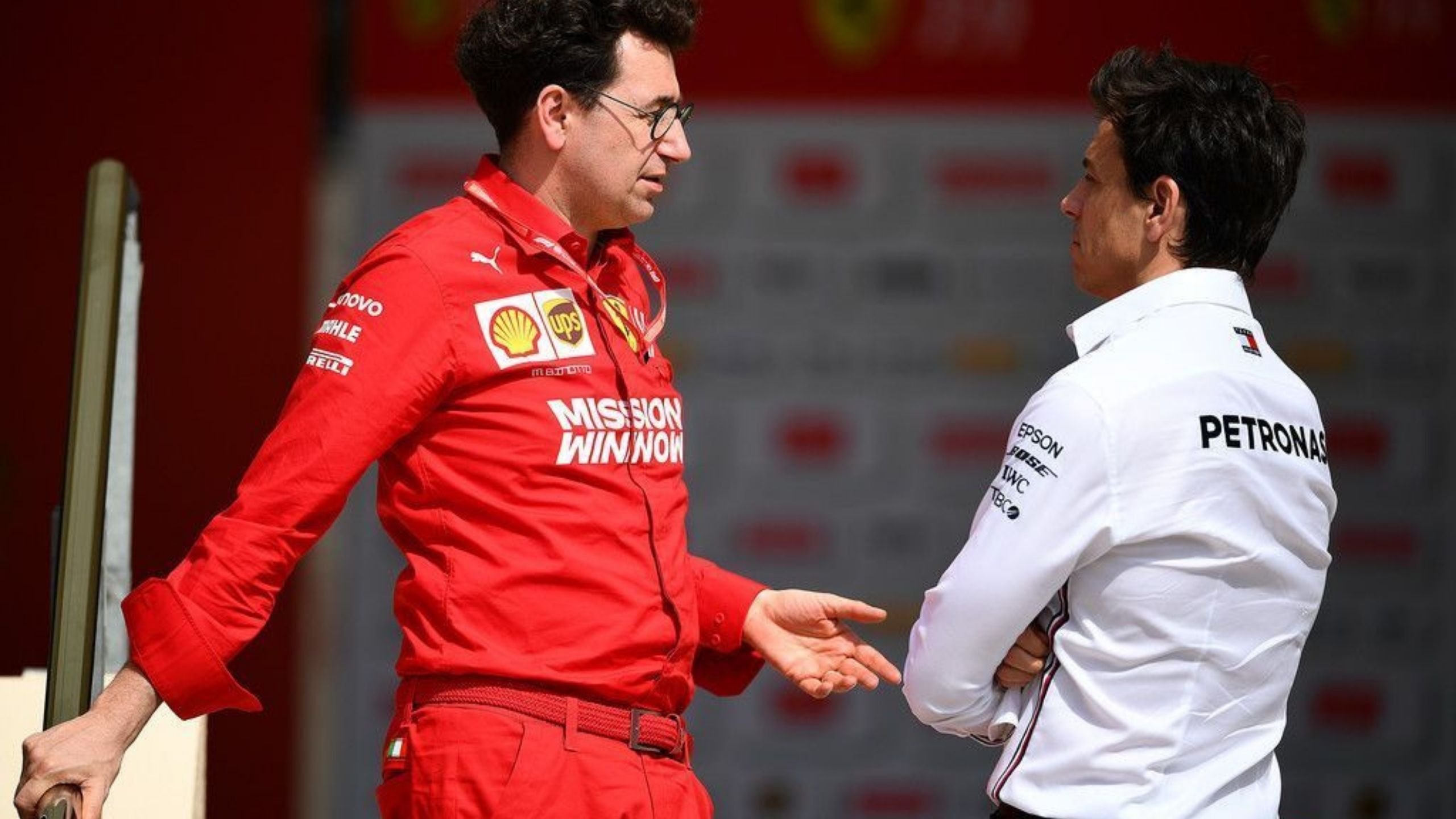 """""""We have seen enough examples"""": Toto Wolff trolls Ferrari for shambolic performances despite huge budget"""