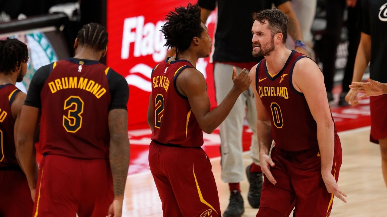 """""""Kevin Love stole $120 million from Cleveland Cavaliers"""": Collin Sexton causes uproar after liking a tweet with this statement"""